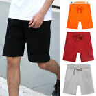 New Fashion Men Cotton Shorts Pants Gym Leisure Sport Jogging Trousers Casual