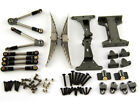 Optional Alu Twin Rear Suspension Axle Set For Tamiya 1/14 Tractor Dumper Truck