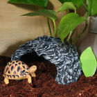 Pet Small Lizards Frogs Turtles Snakes Reptile  Resin Rock Hide Climbing Cave
