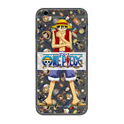 Anime One Piece Luffy Friend Clear Phone Case Cover For iPhone Samsung LG F02757