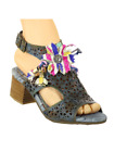 Spring Step L'Artiste Collection Paopao Women's Sandals Blue Multi EU 37 US 7