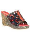 Spring Step L'Artiste Collection Zoe Women's Sandals Red Multi EU 37 US 7