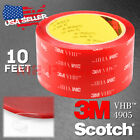 "Genuine 3M VHB # 4905 Clear Double-Sided Tape 1/4"" 5/16"" 7/16"" 1/2"" 1"" 1.5"" 2"""