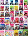 NEW Kids Boys Girls Drawstring Gym Toy Swimming Beach PE School Party Book Bag image