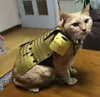 New SAMURAI AGE Japanese YOROI Armor for Pets 3 Size S M  L Hand Made Japan GD