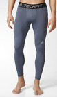 Adidas Tech Fit Base Tights Grey Black Onix Base Layer AJ5208 $35 Mens Large