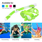 Swimming Full Face Anti-Fog Snorkeling Mask Diving Goggles Snorkel Scuba S/M/L