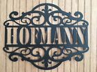 CNC Plasma Custom Name Wall Art Scroll FREE SHIPPING!!! Y...