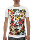 CARS AND GIRLS PIN-UP / Men, White, T-Shirt