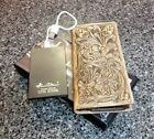 Montana West Genuine Tooled Leather Mens Charging Wallet Cowboy Rodeo Wallet