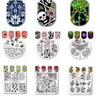 Born Pretty Nail Art Stamping Plates Flower Image  Stencil Stamp Decor