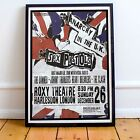Sex Pistols 1976 First UK Tour Concert Poster Framed 3 Print Options EXCLUSIVE