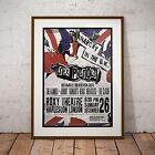Sex Pistols 1976 First UK Tour Concert Poster Print 2 Options NEW 2017 EXCLUSIVE