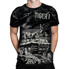 TIGER ONE - Black T-Shirt , battles, weapons of war, weapons, wartime
