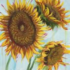 NEW Sunflower Love I Wrapped Canvas Painting Print Marmont HIll Wall Art