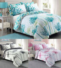 Reversible Bedding Sets Meadow Floral Luxury Duvet Covers Quilt Cover All Sizes