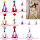 First Birthday Crown Headband for Baby Girl Hair Accessories Cake Smash Hat 1pcs