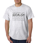 Bayside Made USA T-shirt Problem With Socialism Everyone Paid To Do Nothing