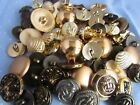 Gold Button Assortment Mixed Gold Colour Buttons in Packs of 10, 20, 50 or 100