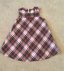 Gymboree SWEETER THAN CHOCOLATE 12-18 months Pink/brown plaid flannel dress