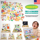 Wooden Magnetic Drawing Board Puzzle Toy Kid Educational Learning Sketchpad Gift