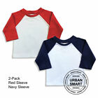 "2-Pack ""Urban Smart"" Baby Raglan Blanks - Infant Baseball Shirts"