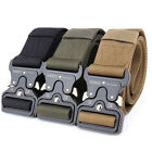 Cool Men Outdoor Hiking Sports Waistband Army Military Nylon Buckle Belt Dulcet