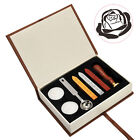 Box Retro Wax Seal Stamps Classical Wax Seal Stamp Sticks Melting Spoons Candles
