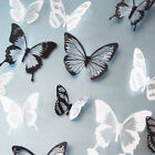 18pcs 3d Butterfly Decor Decals Colorful Present New Crystal Wall Stickers A