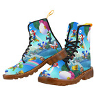Custom Comfortable And Fashion Women Boots Super Mario Martin Boots For Girl