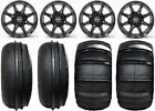"STI HD6 14"" Black UTV Wheels 28"" Sand Stripper/HP Tires Polaris RZR 1000 XP"
