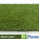Artificial Grass, Quality Astro Turf, Cheap, Realistic Natural Garden 40mm Lawn