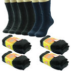 6 Pairs New Mens Thermal Winter Warm WORK Boots Wool Crew Socks Size (9-13)