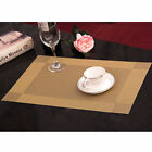 Heat Insulation Placemat Rectangle Square Corner Design Mats 4pcs EB1