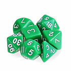 Polyhedral Dice DND RPG MTG Table Games Teaching Math Party Supplies 7pcs EB1