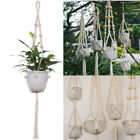 Внешний вид - Pot Holder Macrame Plant Hanger Hanging Planter Basket Jute Braided Rope Craft