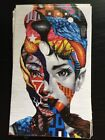 Tristan Eaton Audrey of Mulberry Sticker Musashi Dave Choe Pow Wow Hawaii