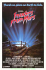 INVADERS FROM MARS MOVIE POSTER Original Rolled One Sheet 27x41 TOBE HOOPER 1986