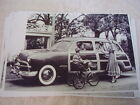 1949 FORD WOODIE STSTION WAGON  11 X 17  PHOTO   PICTURE