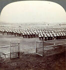 Keystone Stereoview: CHINA-Part of the Great Russian Army -Port Arthur Manchuria