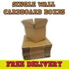 BRAND NEW SINGLE WALL CARDBOARD POSTAL BOXES
