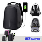 Anti-Theft Water Repellent USB Port XD Bobby Backpack Camera School Travel Bag