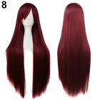 FP- New Fashion Womens Hair Long Anime Wigs Cosplay Wigs Full Straight Intriguin