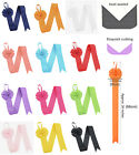 2pcs 6pcs 66cm Bow Hair Clip Storage Hanger Organiser Grosgrain Ribbon Quality