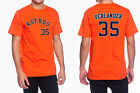 Justin Verlander Houston Astros #35 MLB Jersey Style Mens Graphic T Shirt on Ebay