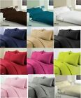Top Quality Polycotton Flat Sheets Pillowcases Single Double King Super King New