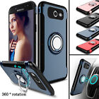 Outer Box Hybrid Ring Stand Hard Case Cover For Samsung Galaxy S7 /Edge/S8 /S8+