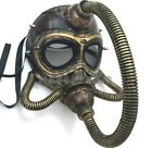 Steampunk Respirator gas mask with hose Halloween party Costume Cosplay Dress up