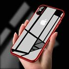 For New iPhone 8 7  Case Transparent Crystal Clear Case Gel TPU Soft Cover Skin