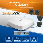 4CHANNEL SECURITY SYSTEM 1080N CCTV 2MP CAMERA NIGHT VISION P2P KIT